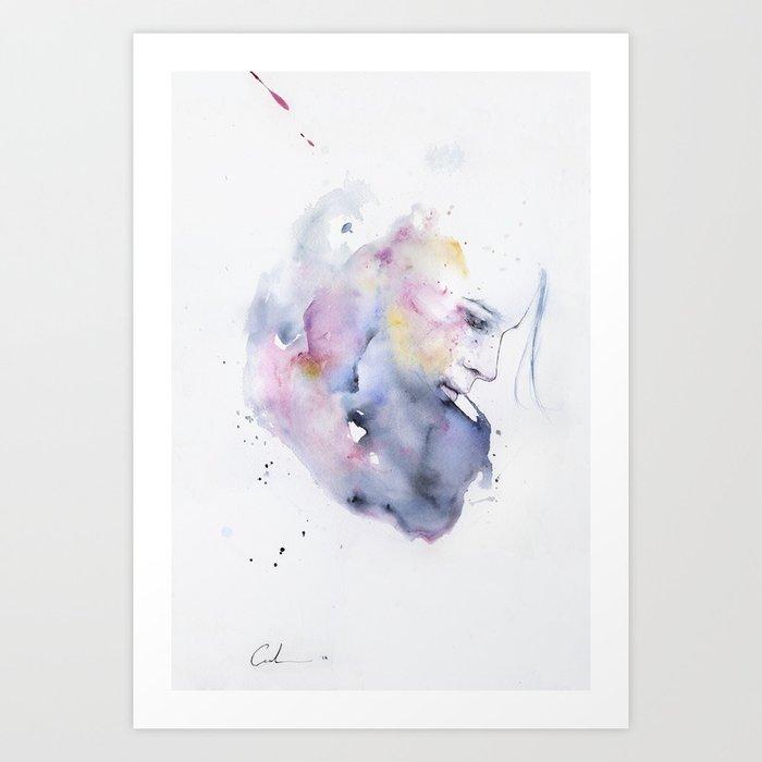 Découvrez le motif JANUARY par Agnes Cecile en affiche chez TOPPOSTER