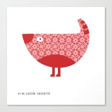 KOKORA (red) Canvas Print