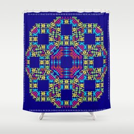 """""""Snowflakes"""" series #6 Shower Curtain"""