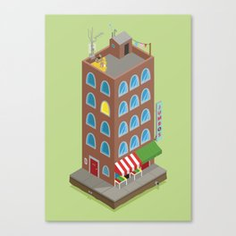 Jumbo's Building Canvas Print