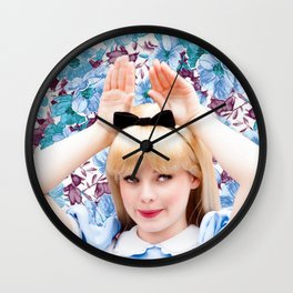 ALICE - RABBIT EARS Wall Clock