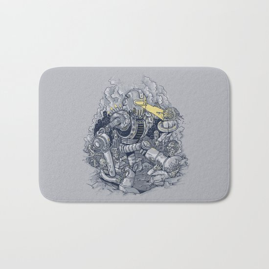 Zombie Exterminator Bath Mat