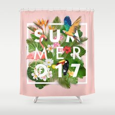 SUMMER of 2017 Shower Curtain