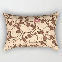 Puglie Heart Rectangular Pillow