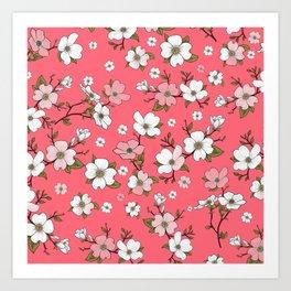 Lovable Flowers 20 Art Print