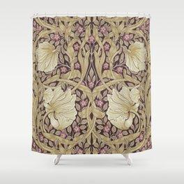 William Morris Vintage Pimpernel Fig & Sisal Shower Curtain