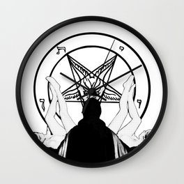 Sex & Satan Wall Clock