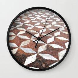 Diamonds and Stars Wall Clock