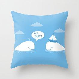 Nice Hat! Throw Pillow