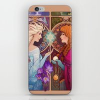 jon snow iPhone & iPod Skins featuring Let Me In by Megan Lara