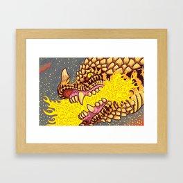 I See Fire Framed Art Print