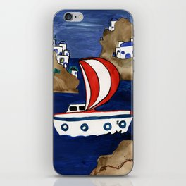 Journey to Greece iPhone Skin