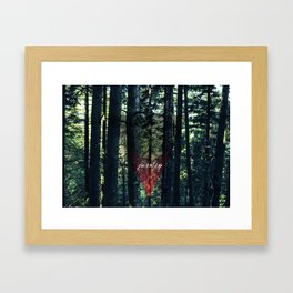 Trip Away Into the wild Framed Art Print