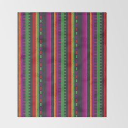 Mexican Pattern Throw Blanket