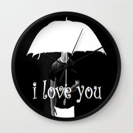 black n white Wall Clock