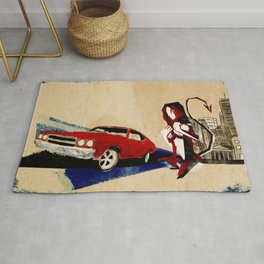 If I Had A Tail Rug