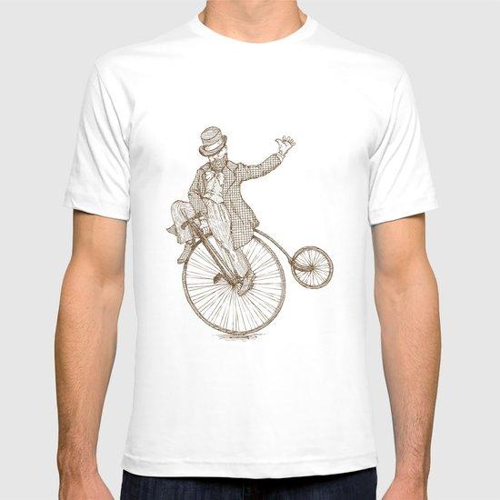 Flatland Penny Farthing T-shirt