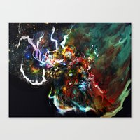 thor Canvas Prints featuring Thor by ururuty