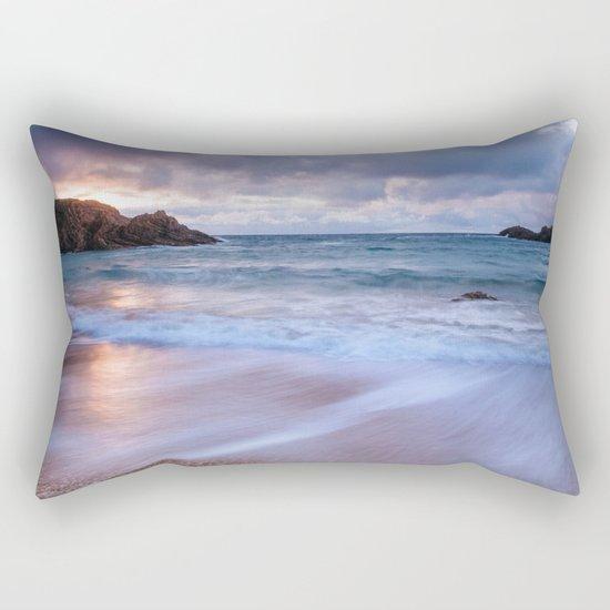 Sunset ocean Rectangular Pillow