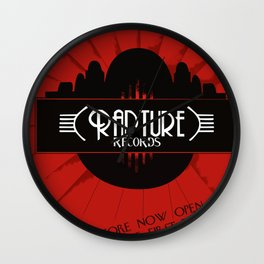 Bioshock Rapture Records Wall Clock