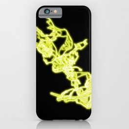 Royal Captain Kidd Neon Sign iPhone Case