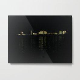 Gulf Shores skyline at night Metal Print