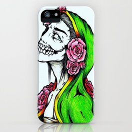The Beauty In Death iPhone Case
