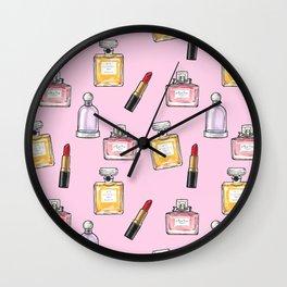 Girly pattern Wall Clock