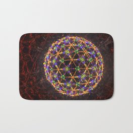 Connect the Kaleidoscope Dots Bath Mat