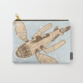 The Dragonfly Orange Carry-All Pouch