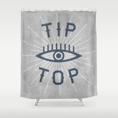 Tip Top Shower Curtain