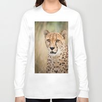 cheetah Long Sleeve T-shirts featuring Cheetah by Simon's Photography