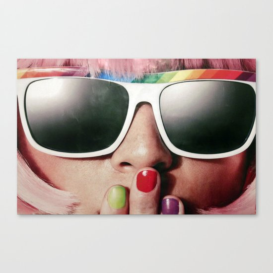 Carnaval girl Canvas Print