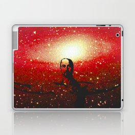 Life's too short to be pissed off all the time Laptop & iPad Skin