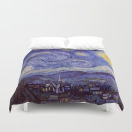 Vincent Van Gogh Starry Night Duvet Cover