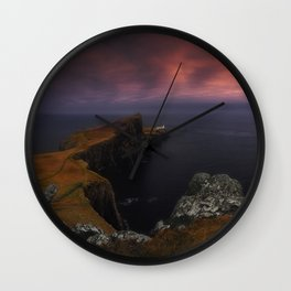 Lattern With The View Wall Clock