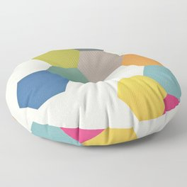Honeycomb I Floor Pillow