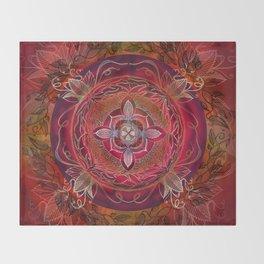 Root Chakra Throw Blanket