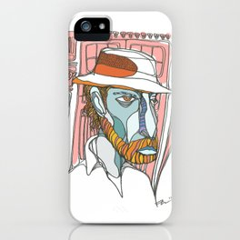 I saw emptiness and found myself there iPhone Case