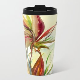 Tropics Metal Travel Mug