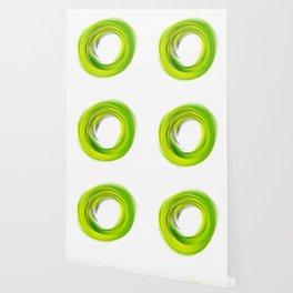 Soft Green Enso - Abstract Art By Sharon Cummings Wallpaper