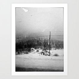 Grey Haze Art Print