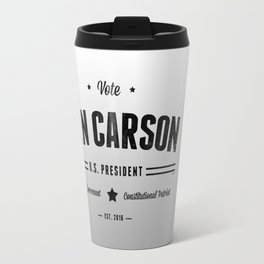 Vote Ben Carson 2016  Travel Mug