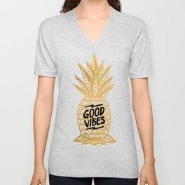 Good Vibes Ananas Unisex V-Neck