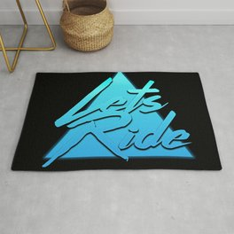 Lets Ride Rug