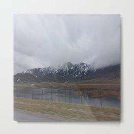 Winter scenery Metal Print