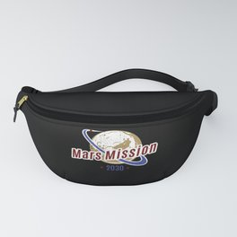 Mars Mission 2030 Fanny Pack