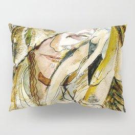 Golden Collar Pillow Sham