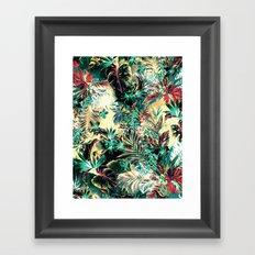 TROPICAL HEAVEN Framed Art Print