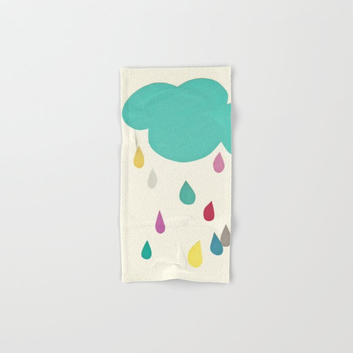 Sunshine and Showers Hand & Bath Towel